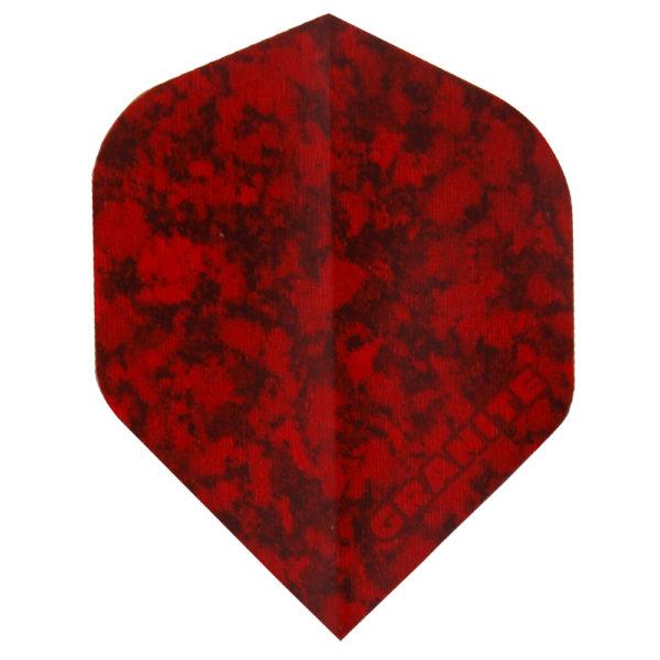 Ailette (3) Ruthless Granite rouge large les 3 jeux