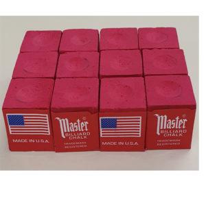 Craie Master rouge x 12 (livré sans boîte)