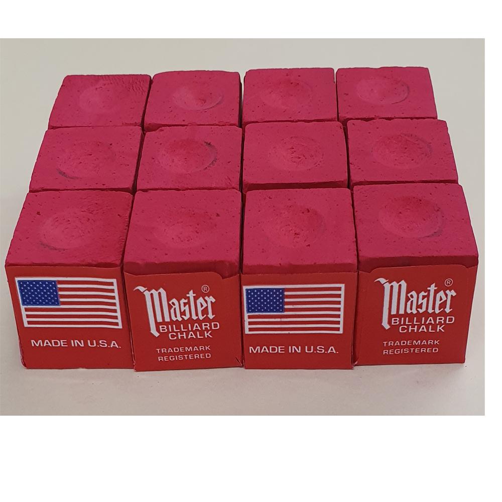 porte craie Master rouge 1 craie bleu de queue de billard americain pool snoker