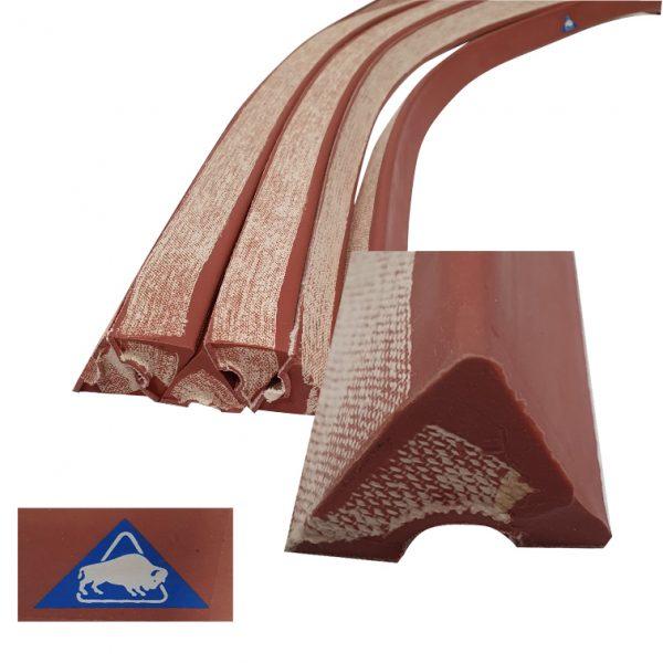 Caoutchouc Triangulaire la longueur 1,22m- 30mm*29mm*28