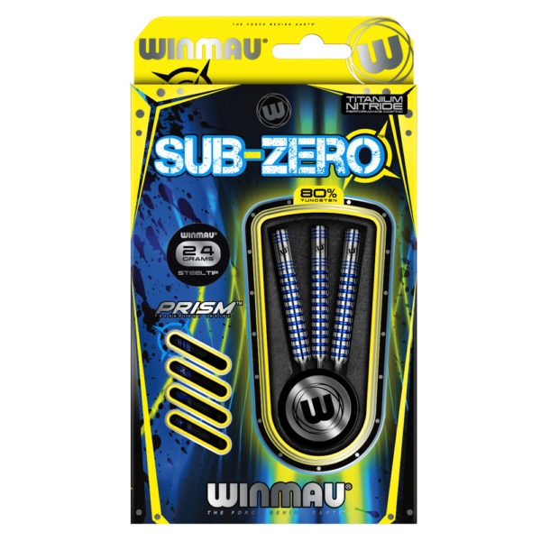 Jeu acier Winmau Sub-Zero A 80% tgs 24g