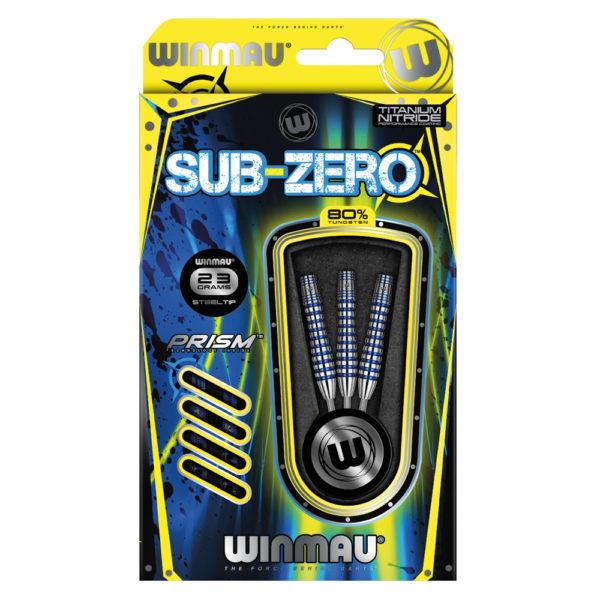 Jeu acier Winmau Sub-Zero B 80% tgs 23g