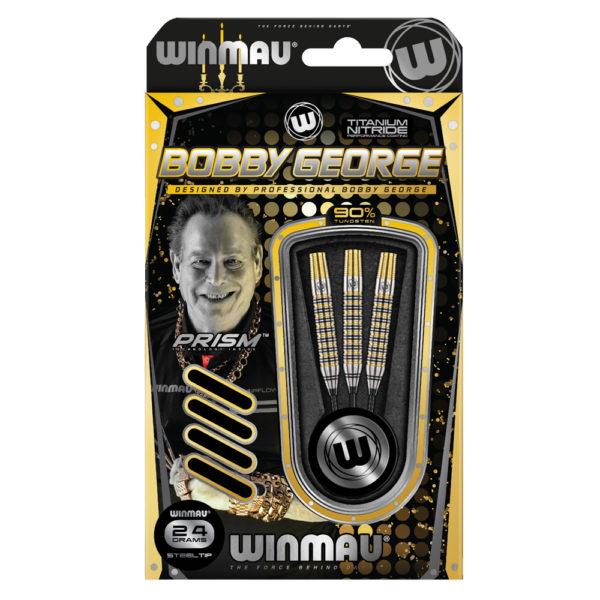 Jeu acier Winmau Bobby Georges Titanium Nitride Coating 90% tgs 24g