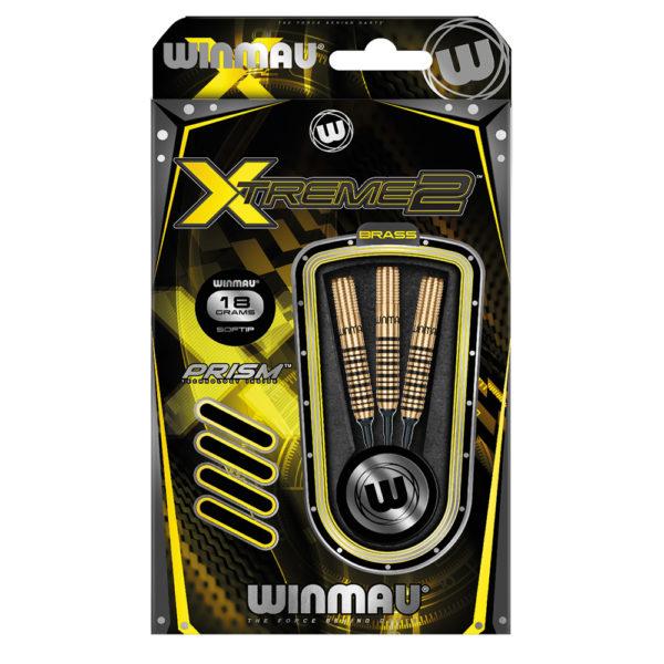 Jeu nylon Winmau Xtreme 2 A Brass 18g