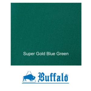 Tapis Mixte Buffalo Super Gold Blue Green 150cm le mètre