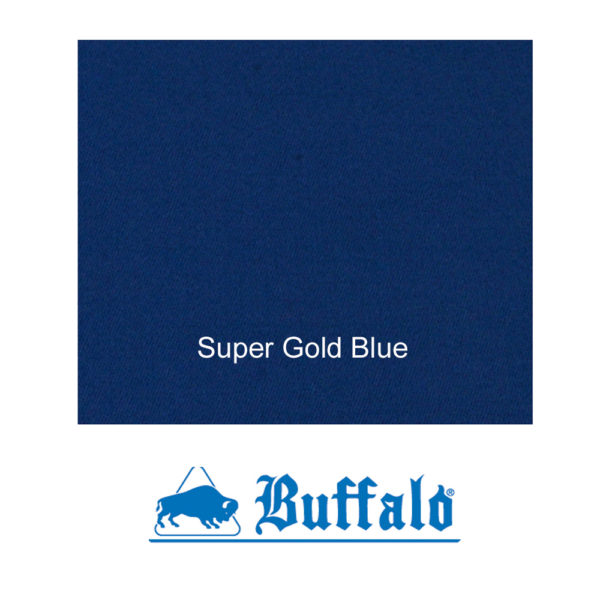 Tapis Mixte Buffalo Super Gold Blue 150cm le mètre