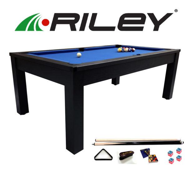 Billard américain Challenger Riley 7ft Noir