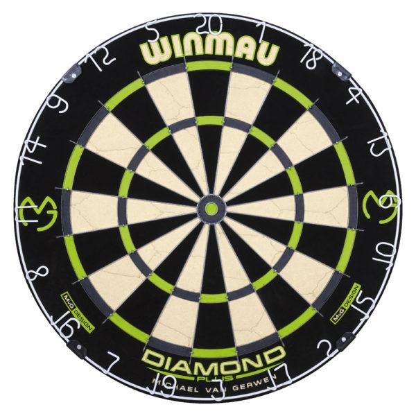 Cible traditionnelle Winmau MvG Design Diamond Plus
