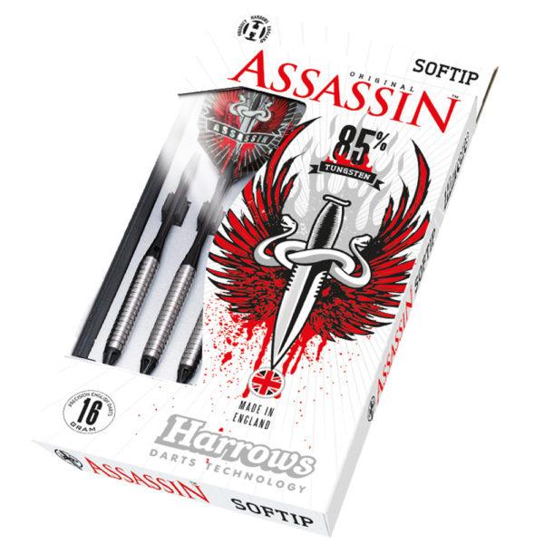 Jeu nylon Harrows Assassin B 85% tgs 18gR