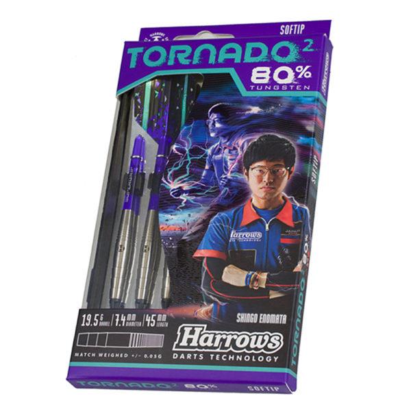 Jeu nylon Harrows Tornado 2 80% tgs 19.5g