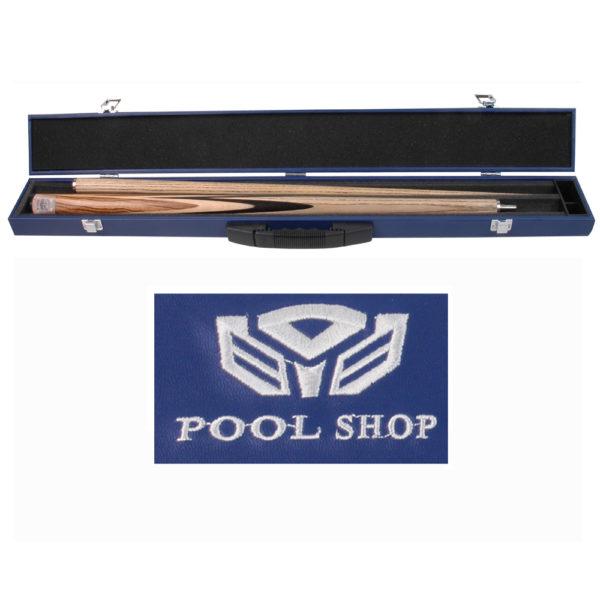 Etui rigide std bleu Pool Shop Queue 2 pièces