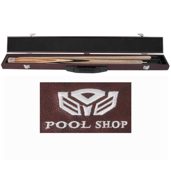 Etui rigide std marron Pool Shop Queue 2 pièces
