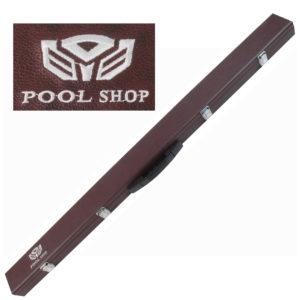 Etui rigide std marron Pool Shop Queue 2 pièces 3/4