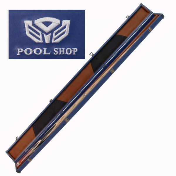 Etui rigide bleu Pool Shop Queue 1 pièce