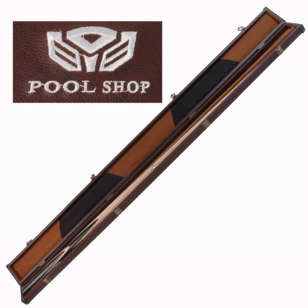 Etui rigide marron Pool Shop Queue 1 pièce