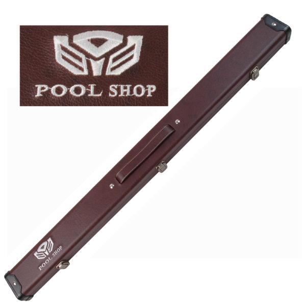 Etui rigide Brown Pool Shop Queue 2 pièces