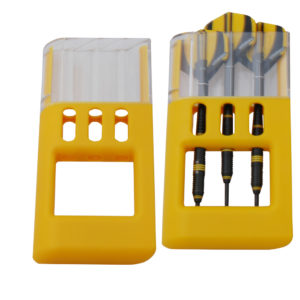 Etui Solibox ABS jaune