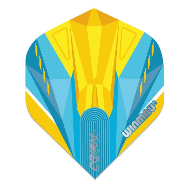 Ailette (3) Prism Delta Light Blue/Yellow large les 3 jeux