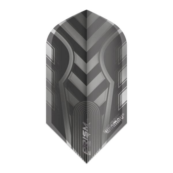 Ailette (3) Prism Zeta Black/Grey slim les 3 jeux