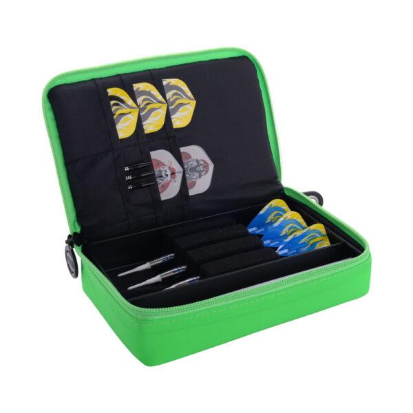 Etui The Dart Box green/black nylon