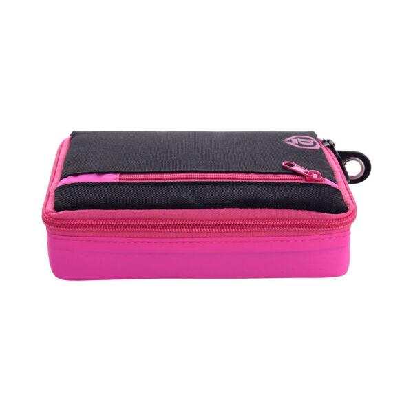 Etui The Dart Box pink/black nylon