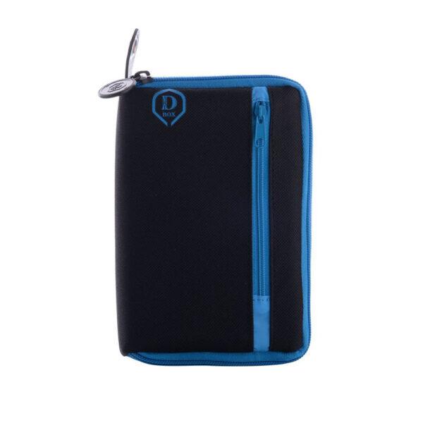 Etui The Dart Box blue/black nylon