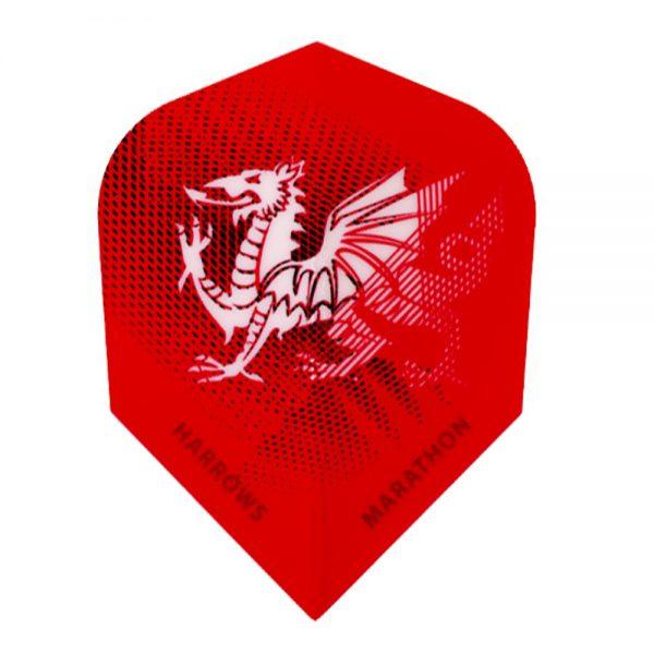 Ailette (3) Marathon Red Dragon large