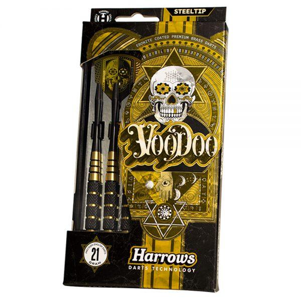Jeu acier Harrows Voodoo Ebonite Coated 21gK