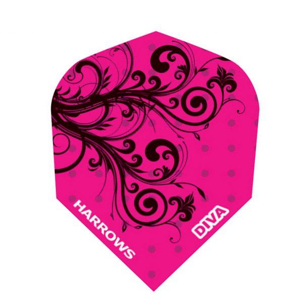 Ailette (3) Diva Pink Frise large les 3 jeux