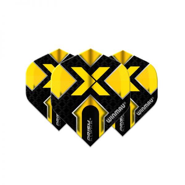 Ailette (3) Prism Alpha X Black/Yellow large