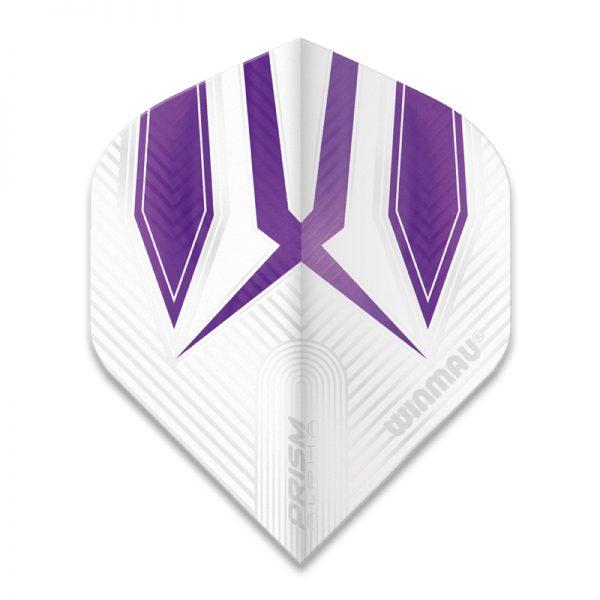 Ailette (3) Prism Alpha White/Purple large les 3 jeux