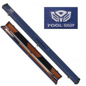 Etui rigide bleu Pool Shop Queue 2 pièces 3/4