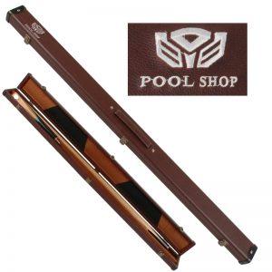 Etui rigide marron Pool Shop Queue 2 pièces 3/4