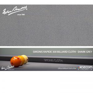 Tapis Simonis 300/195 Shark Grey – Le mètre linéaire