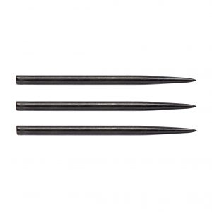 Pointes (3) acier noire 41mm